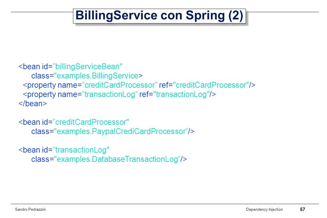 BillingService con Spring (2)