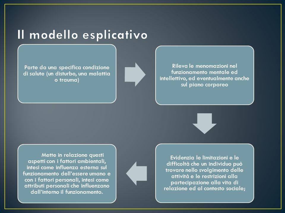 Il modello esplicativo