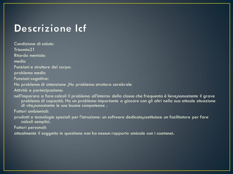 Descrizione Icf