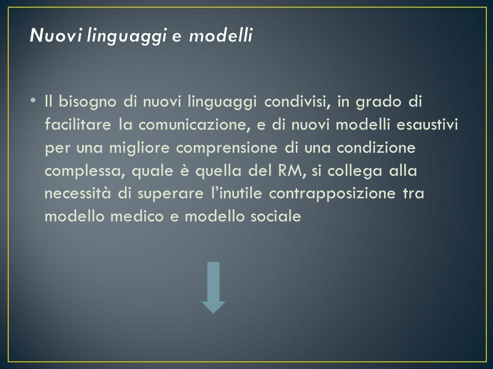 Nuovi linguaggi e modelli