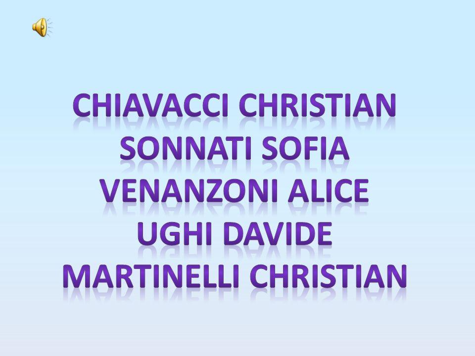 Chiavacci christian Sonnati sofia Venanzoni alice Ughi davide Martinelli christian