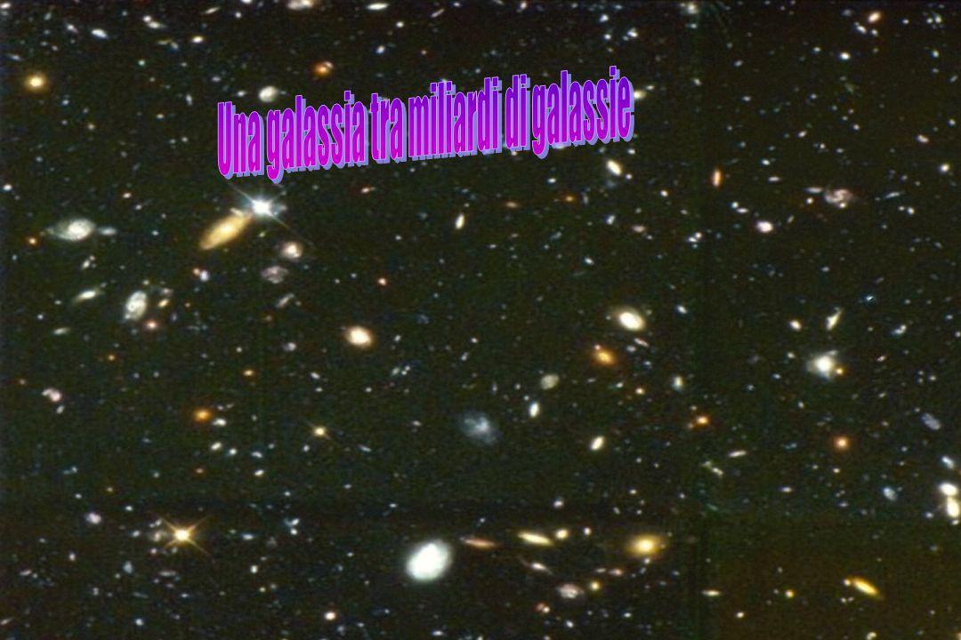 Una galassia tra miliardi di galassie