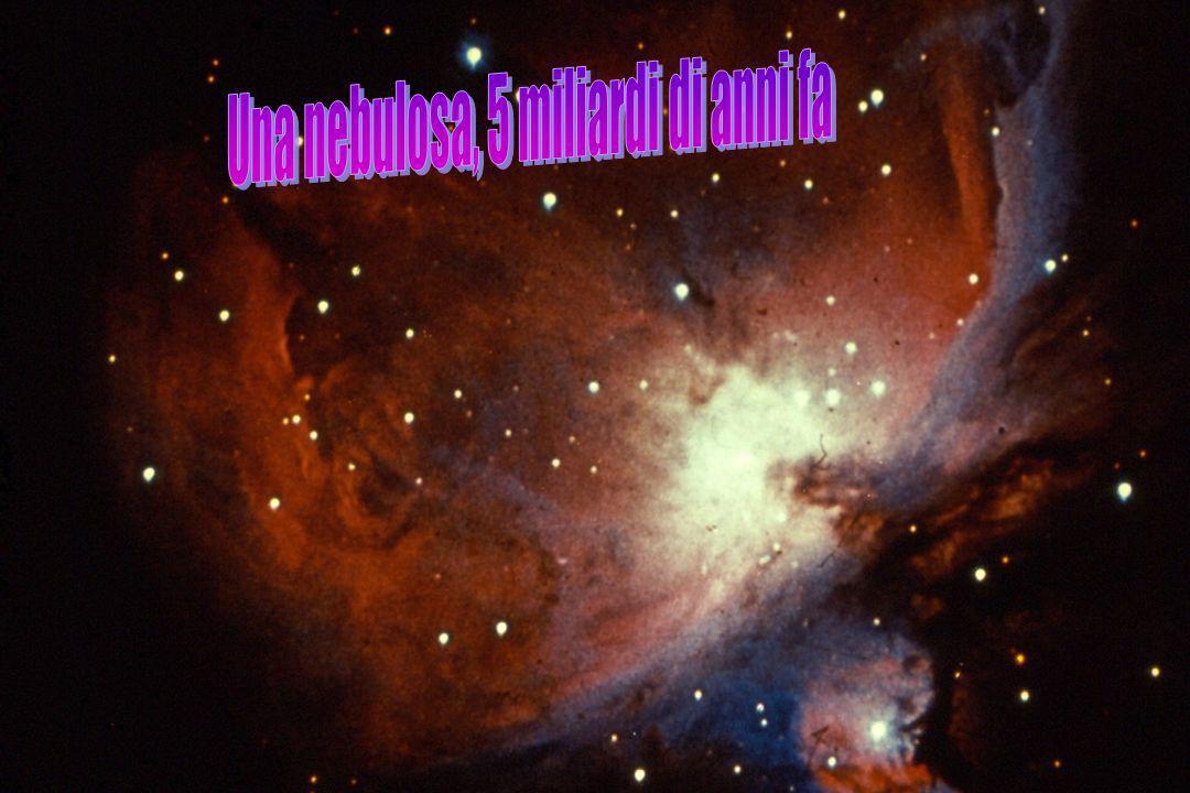Una nebulosa, 5 miliardi di anni fa