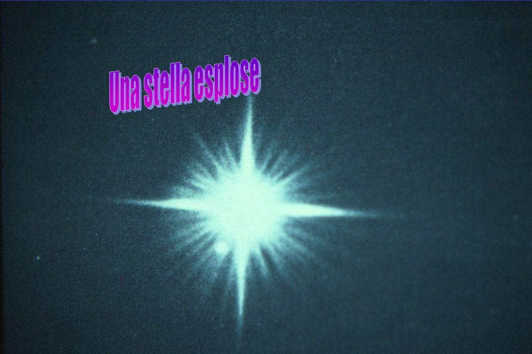 Una stella esplose