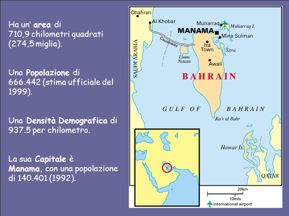 Ha un' area di 710,9 chilometri quadrati (274,5 miglia). Una Popolazione di. 666.442 (stima ufficiale del 1999).