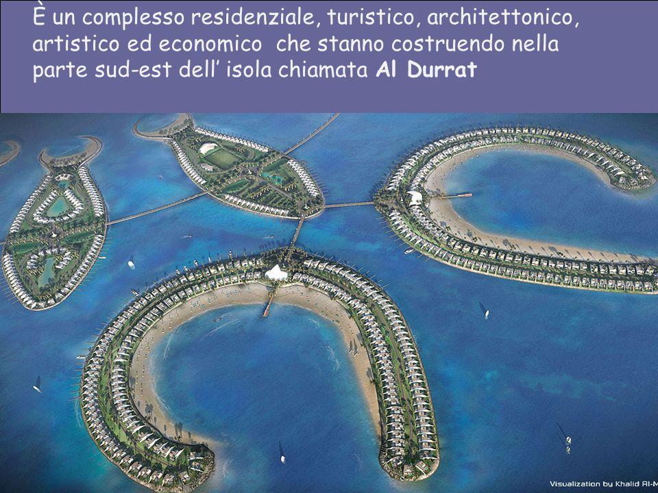 È un complesso residenziale, turistico, architettonico,
