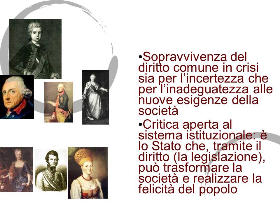 L'età delle riforme 1750-1814