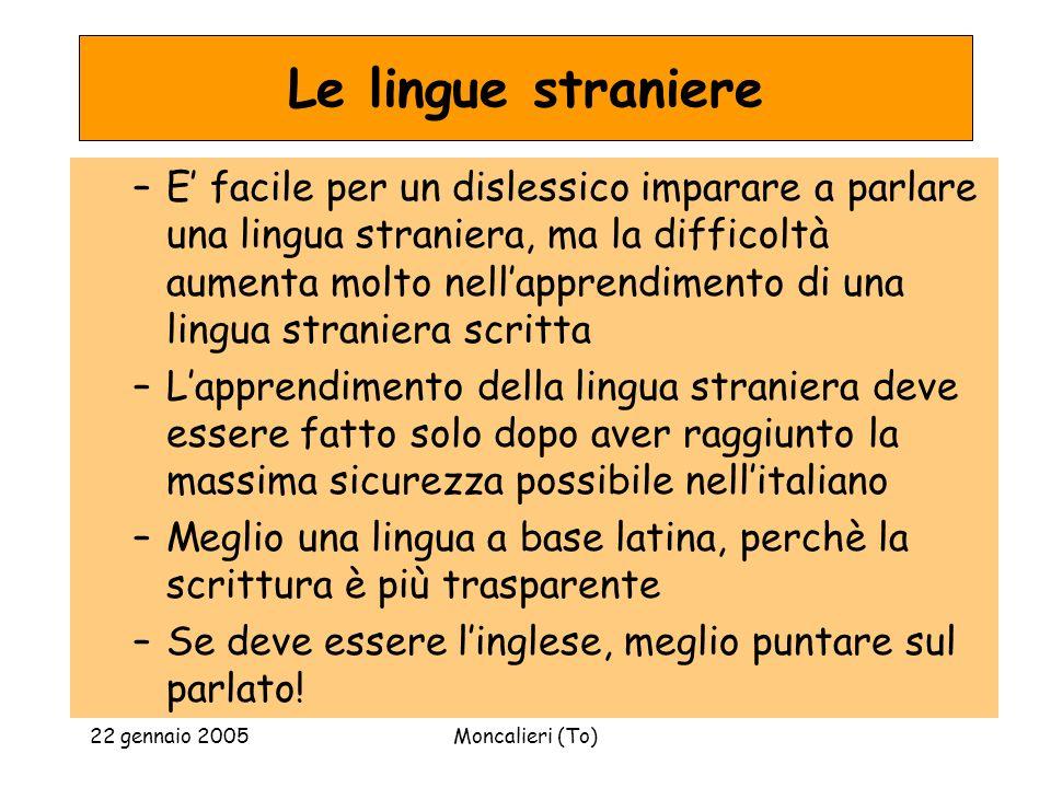 Le lingue straniere