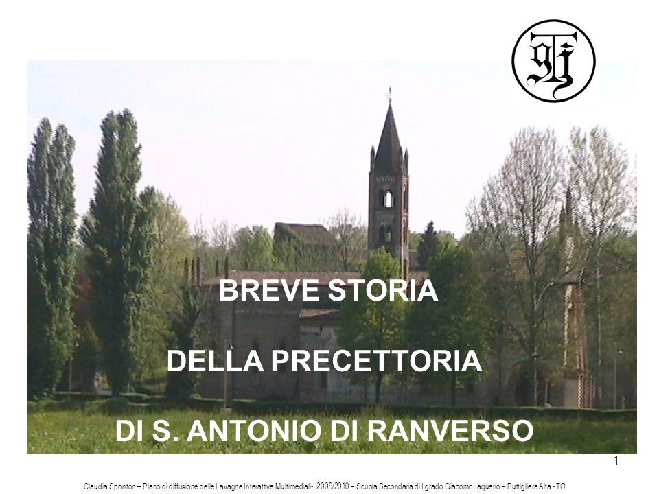 DI S. ANTONIO DI RANVERSO