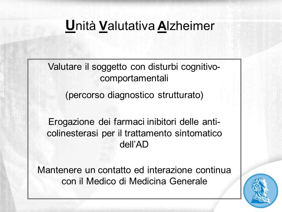 Unità Valutativa Alzheimer