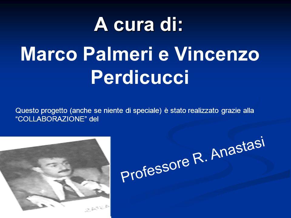 Marco Palmeri e Vincenzo Perdicucci