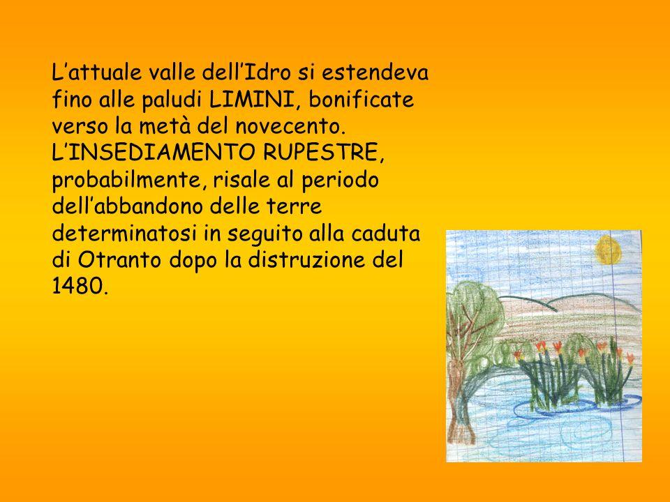 L'attuale valle dell'Idro si estendeva fino alle paludi LIMINI, bonificate verso la metà del novecento.