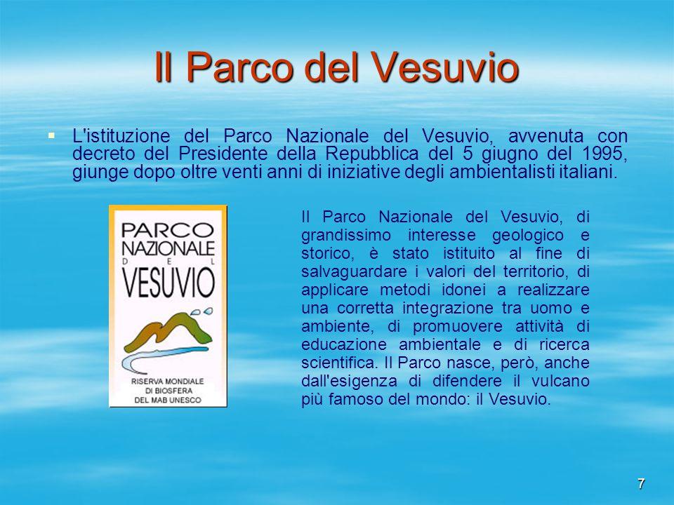 Il Parco del Vesuvio