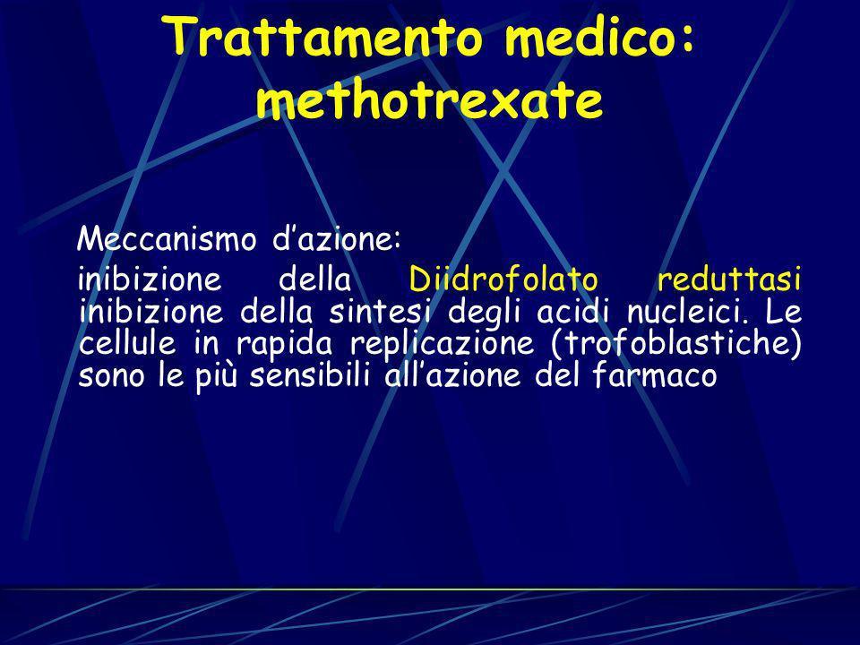 Trattamento medico: methotrexate