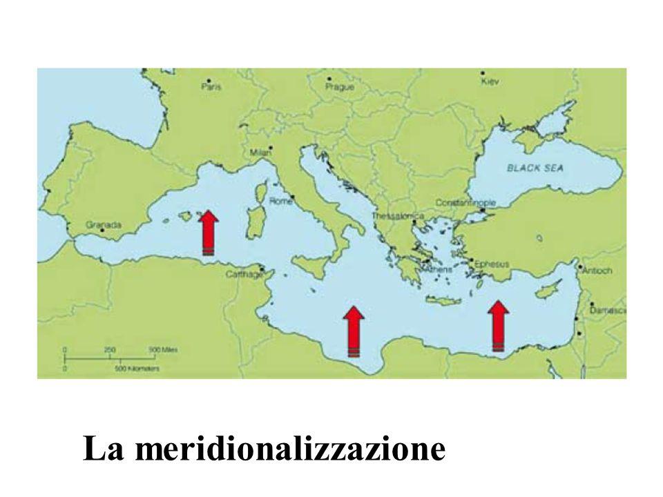La meridionalizzazione