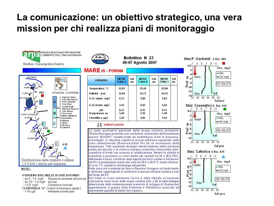 La comunicazione: un obiettivo strategico, una vera mission per chi realizza piani di monitoraggio