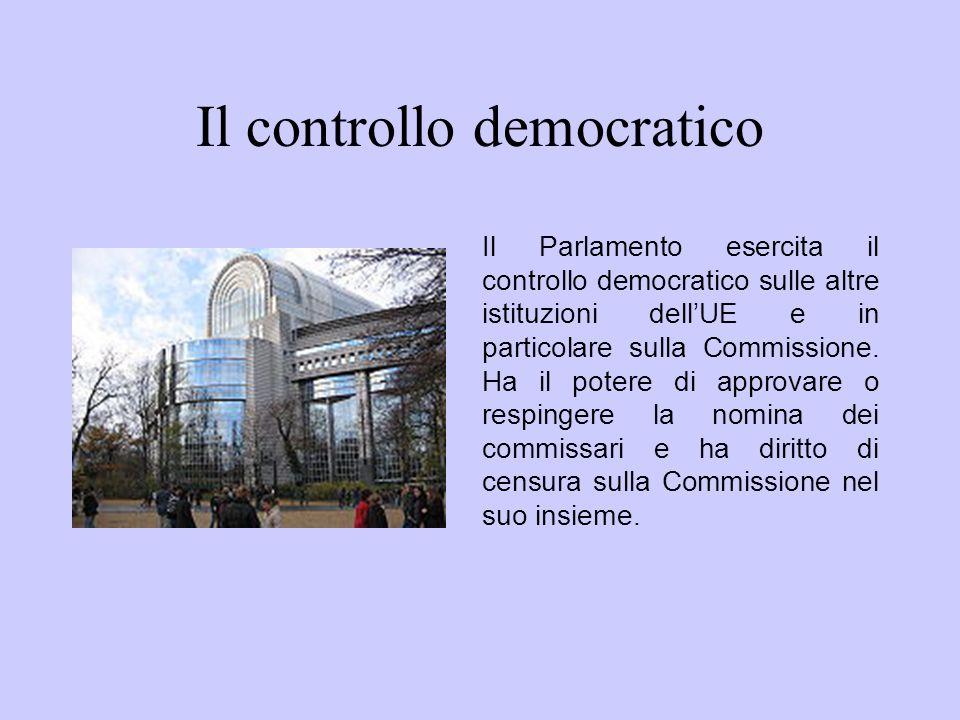 Il controllo democratico