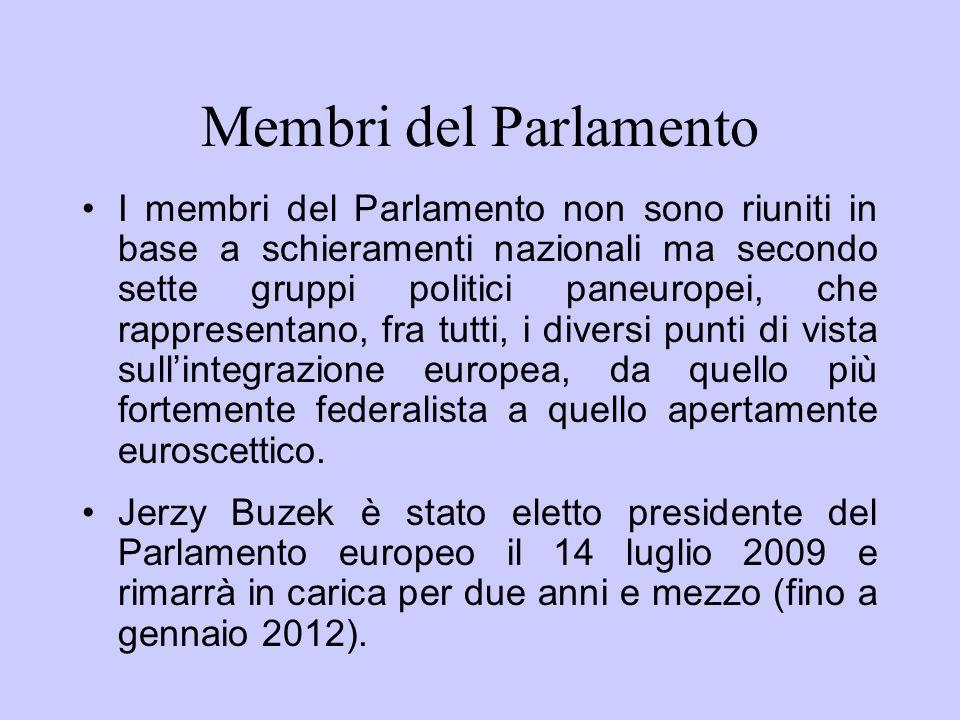 Membri del Parlamento