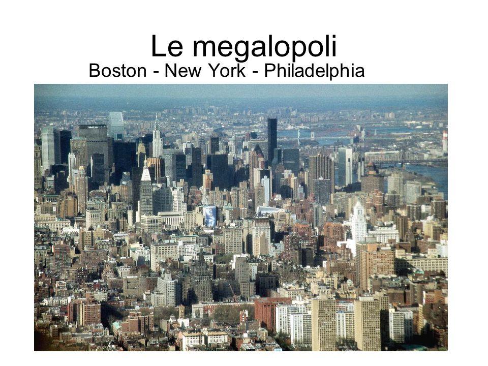 Boston - New York - Philadelphia