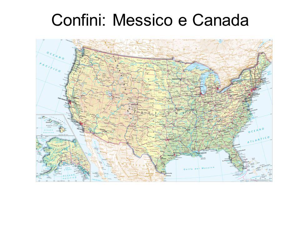Confini: Messico e Canada