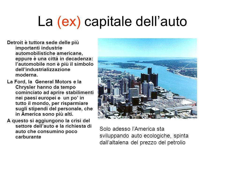 La (ex) capitale dell'auto