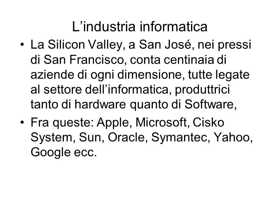 L'industria informatica