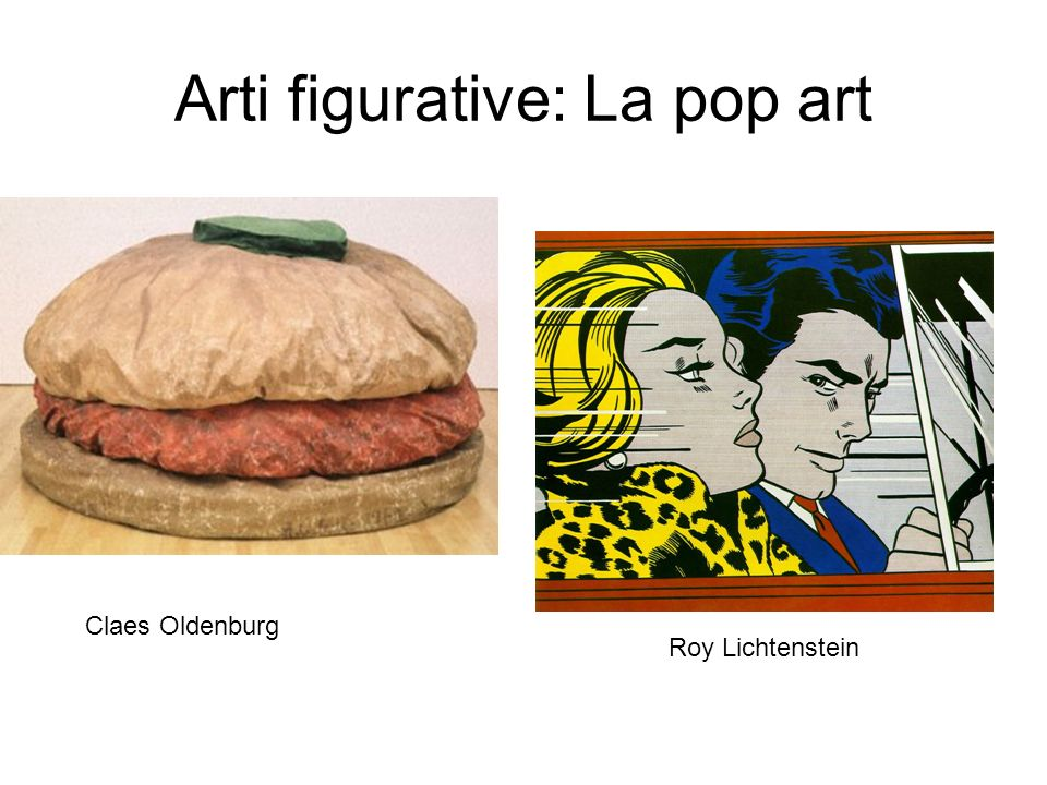 Arti figurative: La pop art