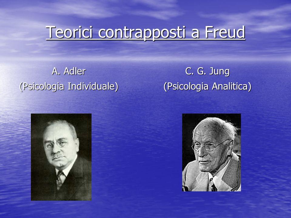 Teorici contrapposti a Freud