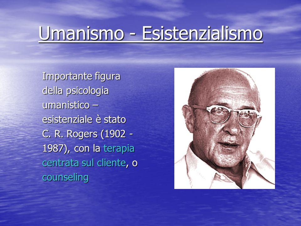 Umanismo - Esistenzialismo