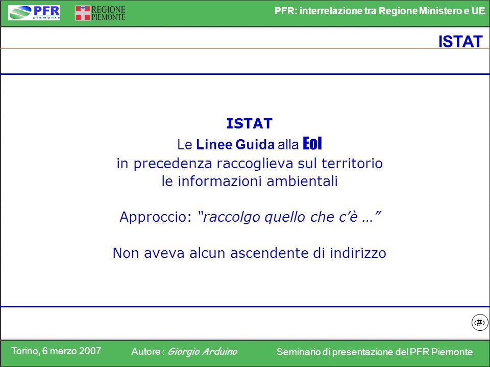 ISTAT ISTAT Le Linee Guida alla EoI