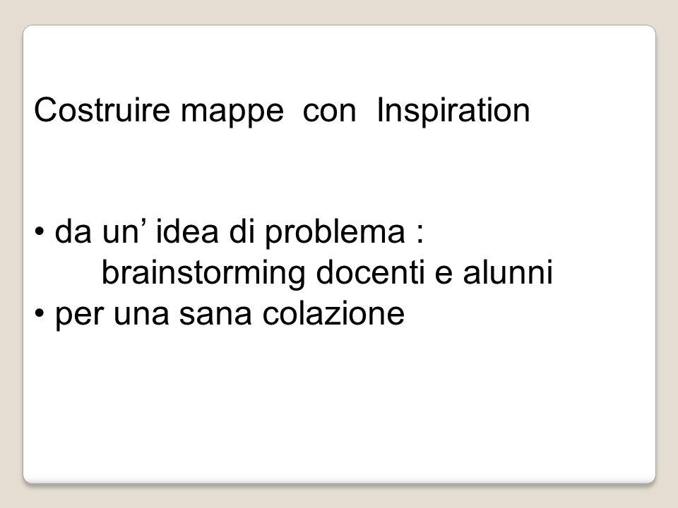 Costruire mappe con Inspiration