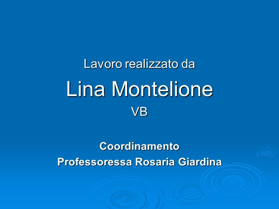 Professoressa Rosaria Giardina