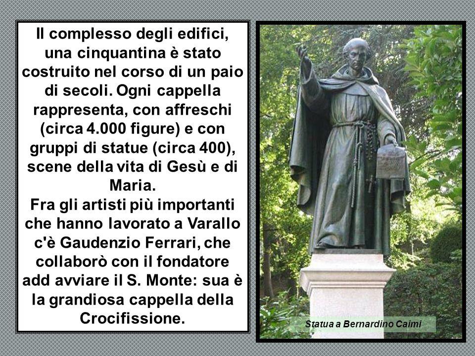 Statua a Bernardino Caimi