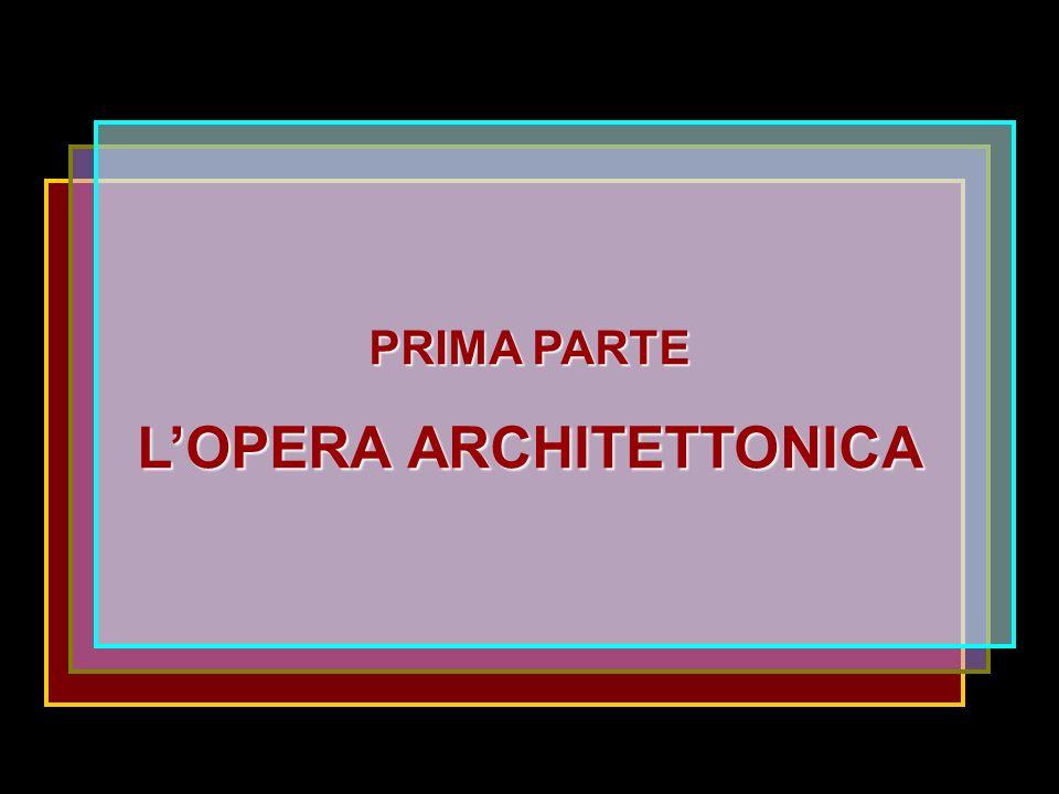 L'OPERA ARCHITETTONICA