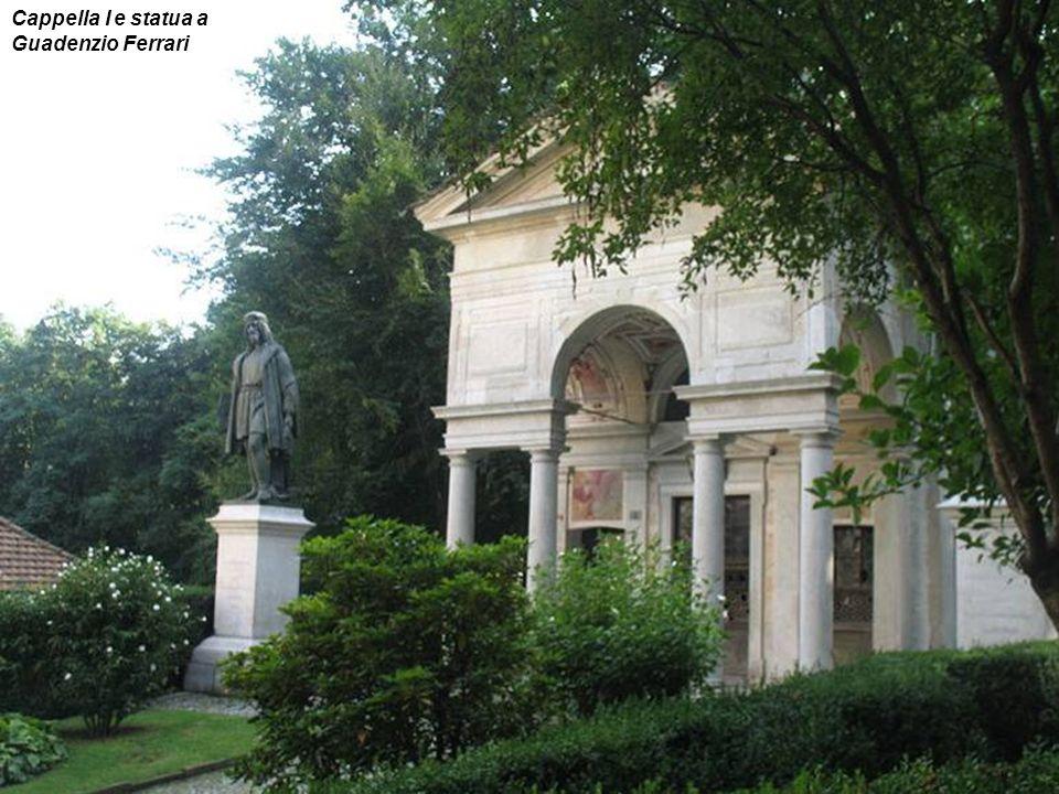 Cappella I e statua a Guadenzio Ferrari