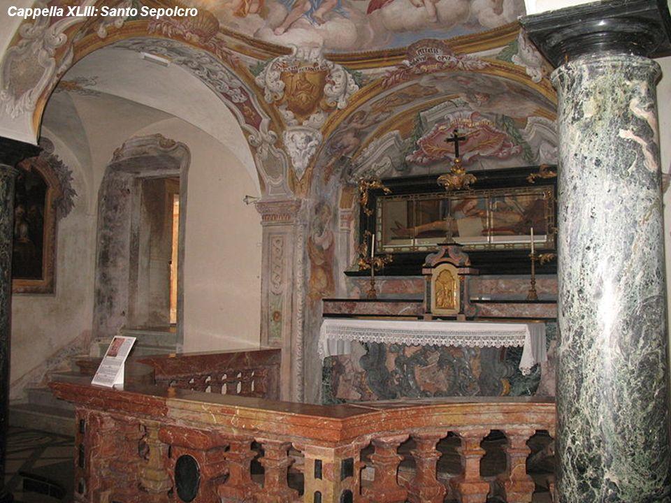 Cappella XLIII: Santo Sepolcro