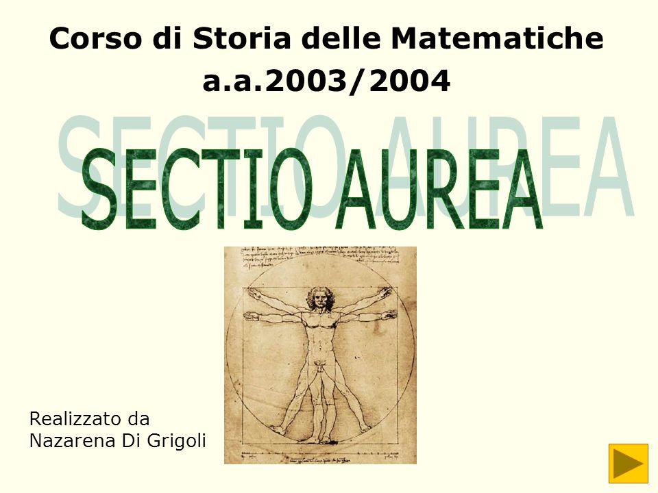 Corso di Storia delle Matematiche a.a.2003/2004