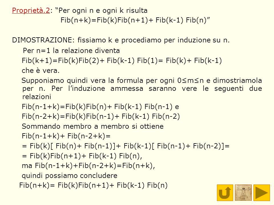 Per n=1 la relazione diventa
