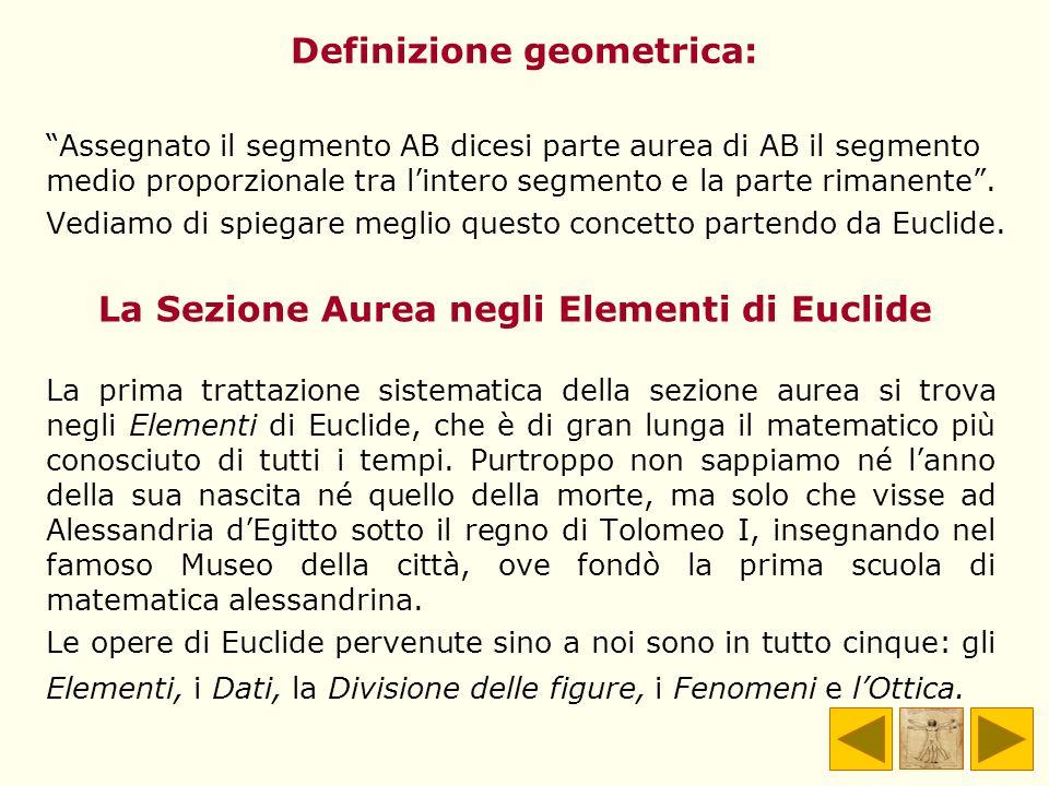Definizione geometrica: