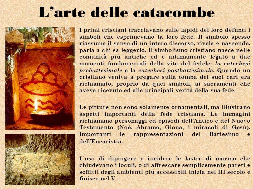 L'arte delle catacombe