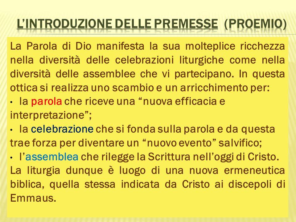 L'introduzione delle Premesse (Proemio)