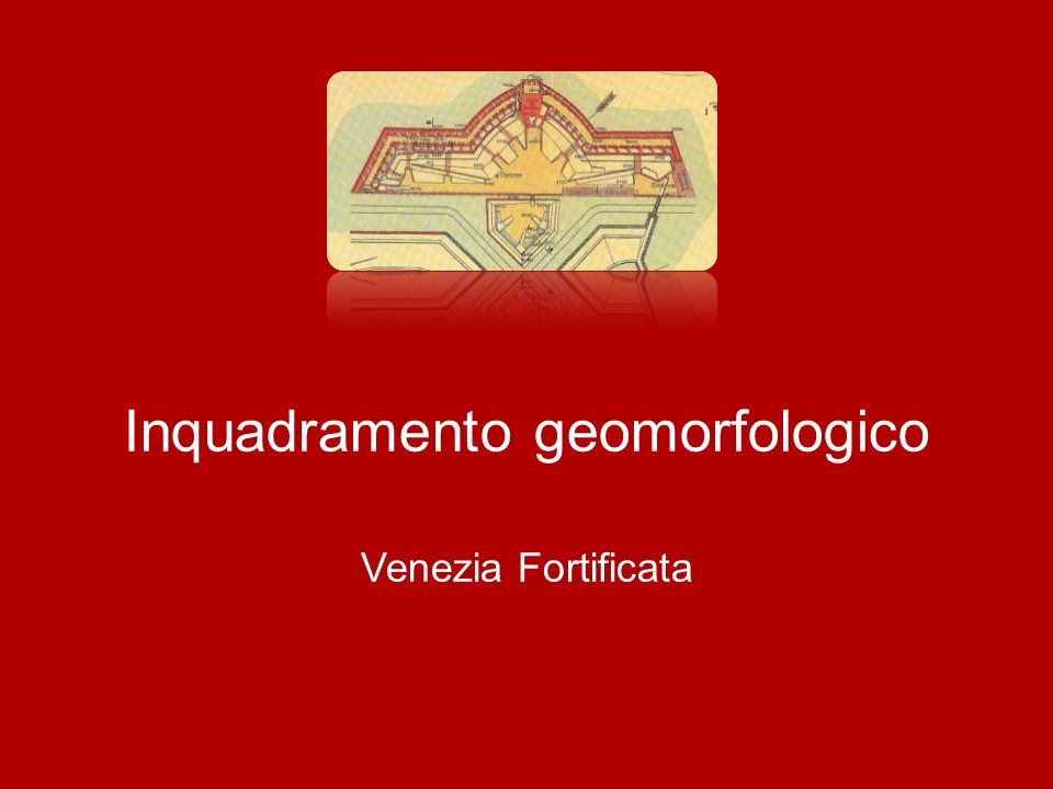 Inquadramento geomorfologico