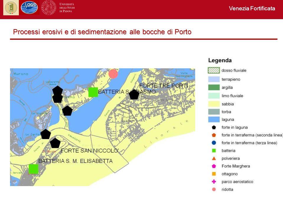 Processi erosivi e di sedimentazione alle bocche di Porto