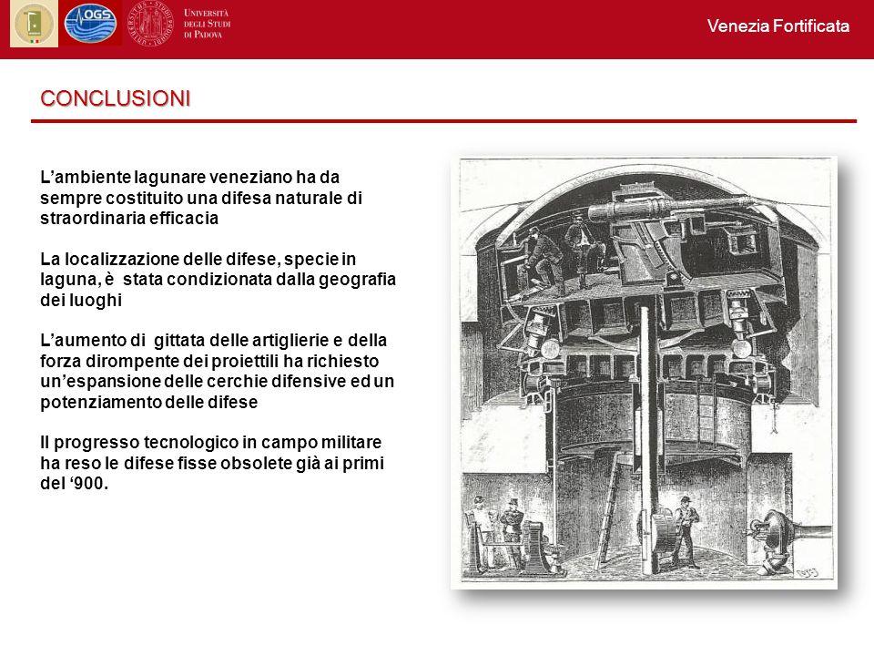 CONCLUSIONI Venezia Fortificata