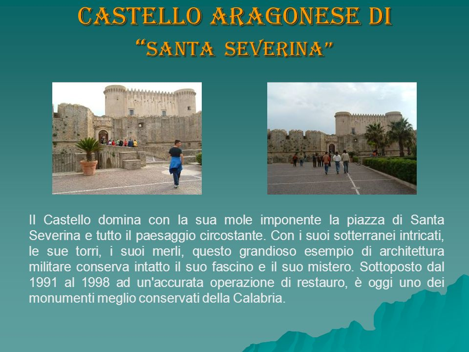Castello aragonese di Santa Severina
