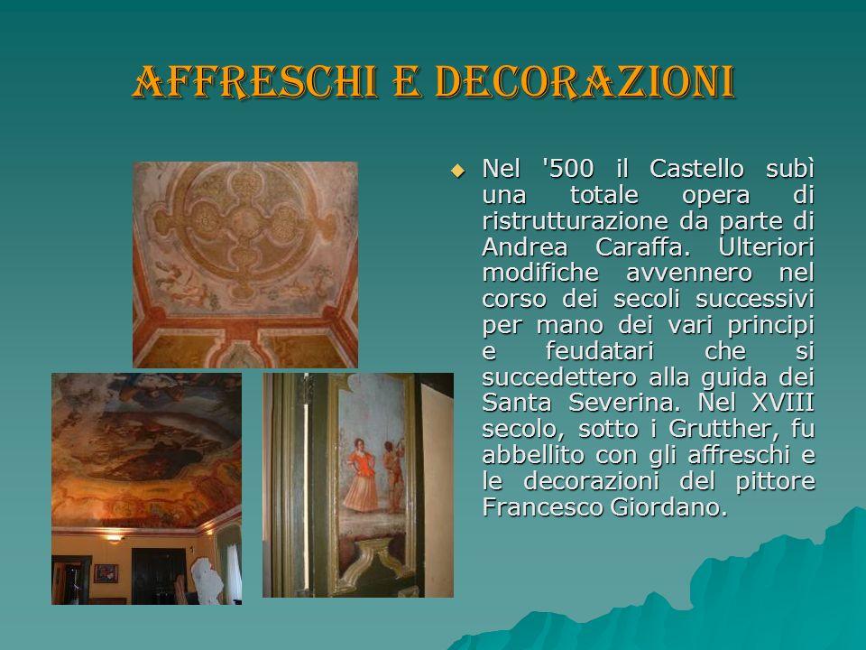Affreschi e decorazioni