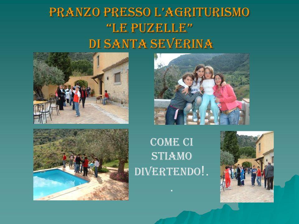 Pranzo presso L'agriturismo Le Puzelle di Santa Severina