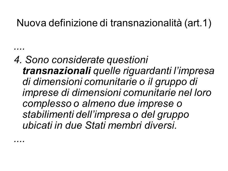 Nuova definizione di transnazionalità (art.1)