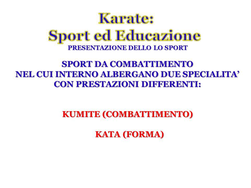 Karate: Sport ed Educazione