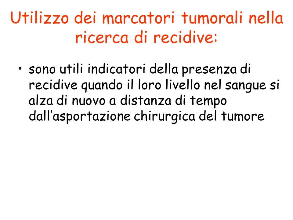 Utilizzo dei marcatori tumorali nella ricerca di recidive: